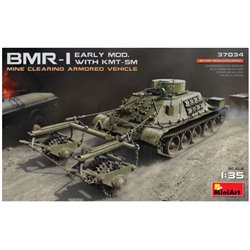 MINIART 37034 1/35 BMR-1 - Early Mod. with KMT-5M