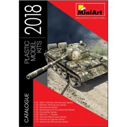 MINIART 55018 Catalogue 2018 en Anglais - English Book