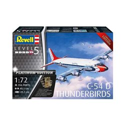 REVELL 03920 1/72 Douglas C-54D Thunderbirds Platinum Edition