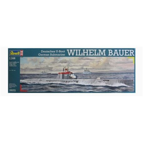 REVELL 05072 1/144 Deutsche U-Boot German Submarine Wilhelm Bauer