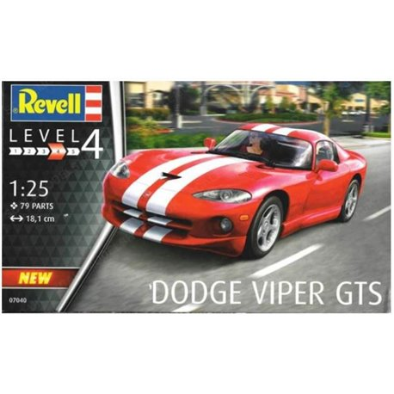 REVELL 07040 1/25 Dodge Viper GTS