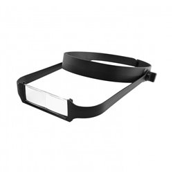 MODELCRAFT POP1763 Slimline Headband Magnifier with 4 Lenses