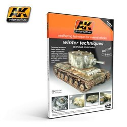 AK Interactive AK035 DVD Vehicle Weathering Techniques - Winter Techniques