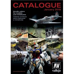 VALLEJO Catalogue - Catalog 2018 English Spanish