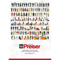 PREISER 93059 PK27 Catalogue - Catalog 2017 -2018