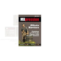 VILLALBA MXP-DVD-02 Painting a 1/35 Scale Figure with Acrylic Colors