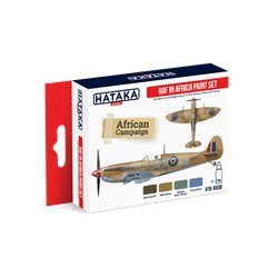 HATAKA HTK-AS08 Aviation Paint Set RAF in Africa paint set 4x17ml