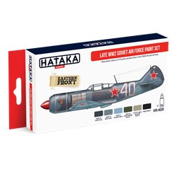 HATAKA HTK-AS20 Aviation Paint Set Late WW2 Soviet Air Force paint set 6x17ml