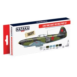 HATAKA HTK-AS33 Aviation Paint Set Early WW2 Soviet Air Force paint set 8x17ml