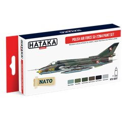 HATAKA HTK-AS47 Aviation Paint Set Polish Air Force Su-22M4 paint set 6x17ml