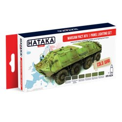 HATAKA HTK-AS24 Warsaw Pact AFV panel lighting set 6x17ml