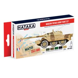 HATAKA HTK-AS25 Modern French Army paint set 6x17ml