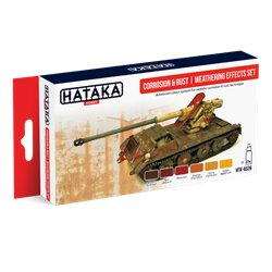 HATAKA HTK-AS26 Corrosion & rust weathering effects set 6x17ml