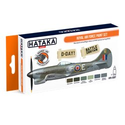 HATAKA HTK-CS07 Aviation Paint Set Royal Air Force paint set 6x17ml