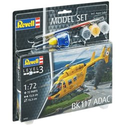 REVELL 64953 1/72 BK117 ADAC Model-Set