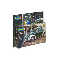 REVELL 67035 1/24 VW Beetle Police Model Set