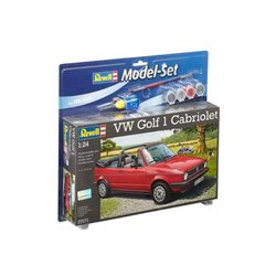 REVELL 67071 1/24 VW Golf 1 Cabrio Model Set