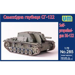 UNIMODELS 285 1/72 Self-propelled gun SG-122