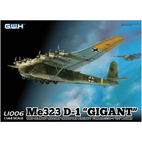 "GREAT WALL HOBBY L1006 1/144 Me 323 D-1 ""GIGANT"""