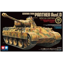 TAMIYA 25182 1/35 Pz.Kpfw.V Ausf.D Panther 50th Anniversary Special Edition