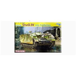 DRAGON 6612 1/35 Sd.Kfz.167 StuG.IV Late Production (new production run) w/ DS Tracks