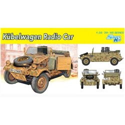 DRAGON 6886 1/35 Kubelwagen Radio Car