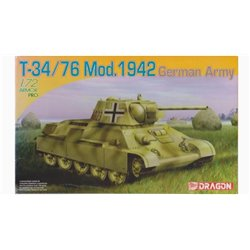 DRAGON 7268 1/72 T-34/76 Mod. 1942 German Army