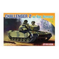 DRAGON 7287 1/72 Challenger 2 w/Bar Armour