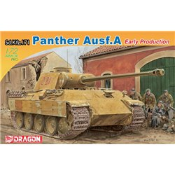 DRAGON 7499 1/72 Sd.Kfz.171 Panther Ausf.A Early Production