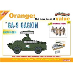 DRAGON 9138 1/35 Soviet SA-9 Gaskin with Motor Rifle Troops
