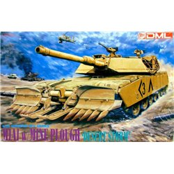 DRAGON 3516 1/35 M1A1 w/Mine Plough 'Desert Storm'