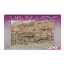 DRAGON 7201 1/72 Sd.Kfz. 184 Elefant