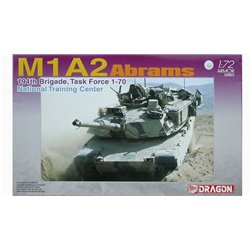 DRAGON 7216 1/72 M1A1 Abrams 194th Brigade Task Force 1-70 National Training Center