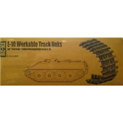 TRUMPETER 02058 1/35 E-10 Workable Track links for German Entwicklungsfahrzeug E10