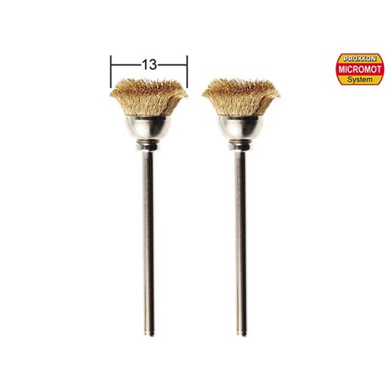 PROXXON 28963 Brosses en laiton - Brushes Brass
