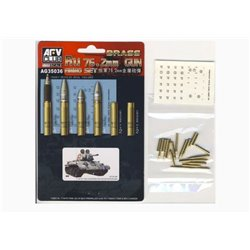 AFV CLUB AG35036 1/35 BRASS Ru 76.2mm Gun Ammo Set