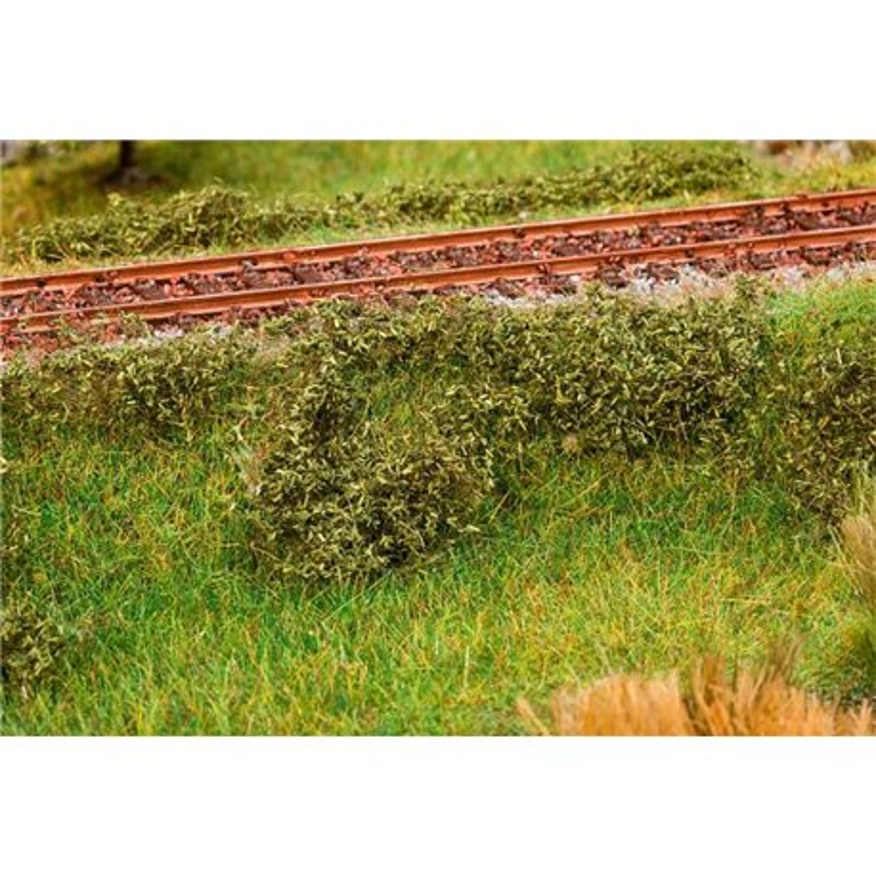 FALLER 181616 Feuillage de terrain, vert foncé - Clump foliage, dark green