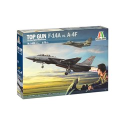 "ITALERI 1422 1/72 ""Top Gun"" F-14A vs A-4F"