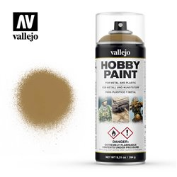VALLEJO 28.015 Bombe - Spray Hobby Paint JAUNE DESERT - DESERT YELLOW 400ml