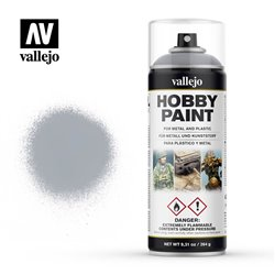 VALLEJO 28.021 Bombe - Spray Hobby Paint ARGENT – SILVER 400ml