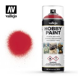 VALLEJO 28.023 Bombe - Spray Hobby Paint ROUGE SANG – BLOODY RED 400ml