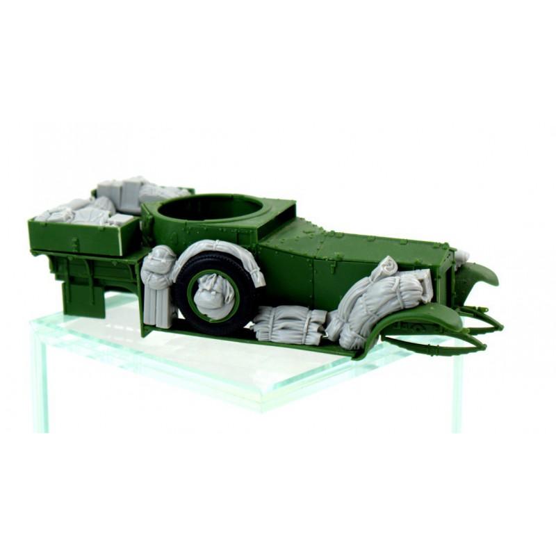 MINIART 35593 1/35 Concrete Mixer Set