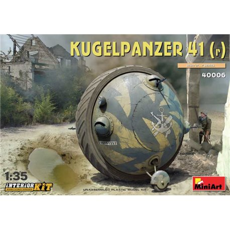 MINIART 40006 1/35 Kugelpanzer 41(r) with Interior Kit