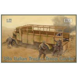IBG Models 35055 1/35 3Ro Italian Truck - Troop Carrier