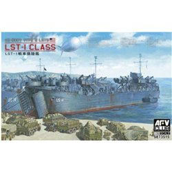 AFV CLUB SE73515 1/350 US NAVY TYPE 2 LSTs LST-1 CLASS