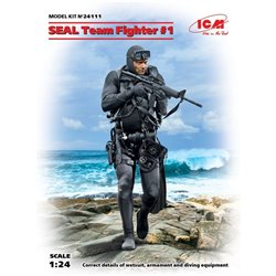 ICM 24111 1/24 S.E.A.L Team Fighter #1