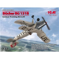 ICM 32031 1/32 Bücker Bu-131B German Training Aircraft