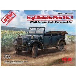ICM 35581 1/35 le.gl.Einheits-Pkw Kfz.1 WWII German Light Personnel Car