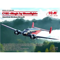"ICM 48186 1/48 Beech C18S ""Magic by Moonlight"", Airshow Aircraft"