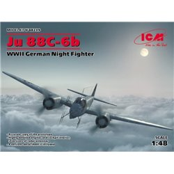 ICM 48239 1/48 Ju 88C-6b WWII German Night Fighter